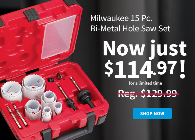 Milwaukee Hole Saw Kit
