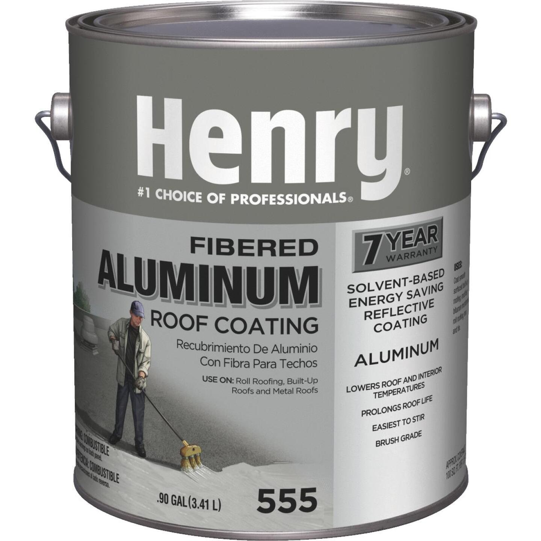 Henry 1 Gal. Fibered Aluminum Roof Coating Image 1
