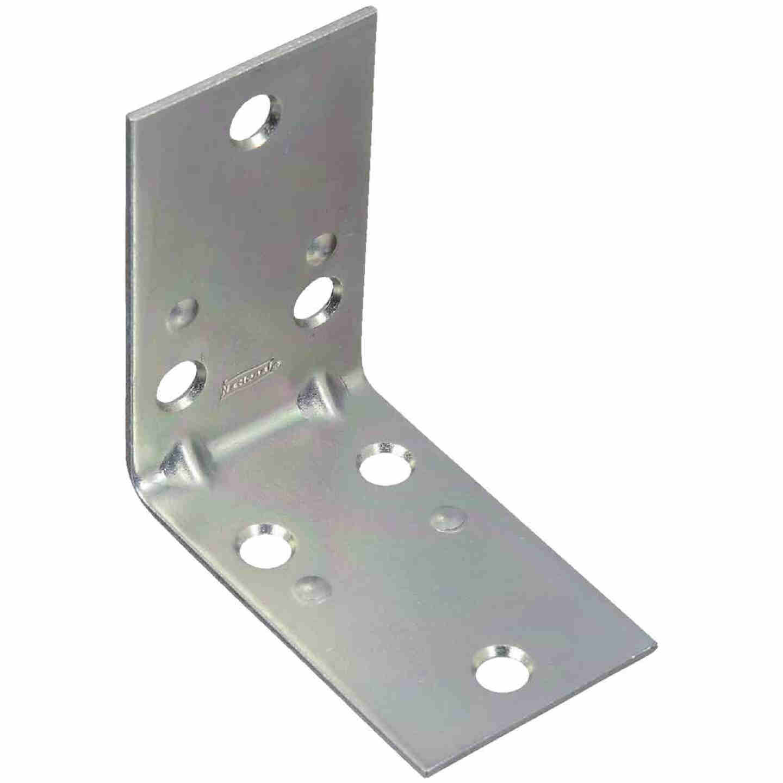 National Catalog V121 2-1/2 In. x 1-1/2 In. Double Wide Zinc Corner Brace Image 1