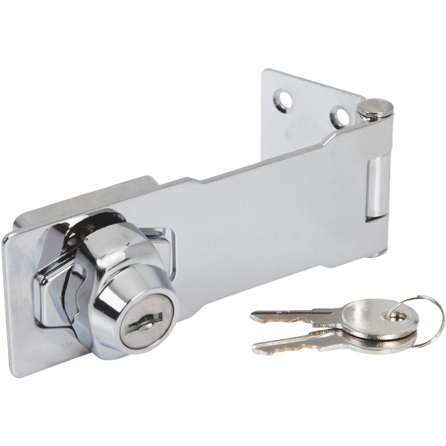 National 4-1/2 In. Keyed Alike Hasp Lock Image 2