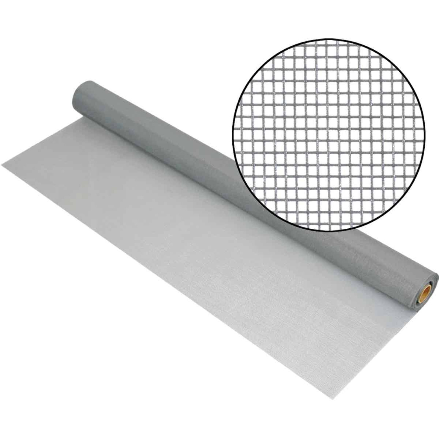 Phifer 48 In. x 100 Ft. Gray Fiberglass Mesh Screen Cloth Image 1