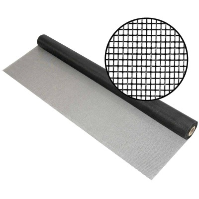 Phifer 60 In. x 100 Ft. Charcoal Fiberglass Mesh Screen Cloth