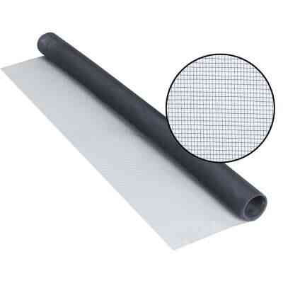 Phifer 30 In. x 84 In. Charcoal Aluminum Screen Ready Rolls