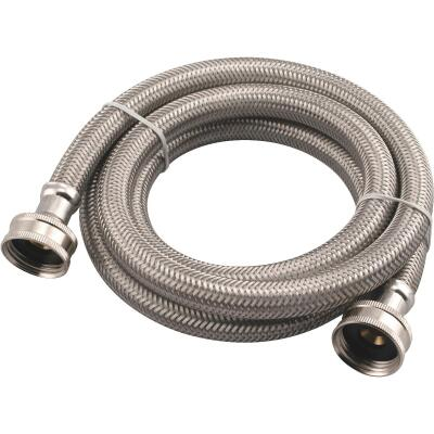 B&K 5 Ft. Stainless Steel 125 psi Washing Machine Hose