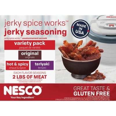 Nesco Jerky Spice Works Variety Spice Seasoning