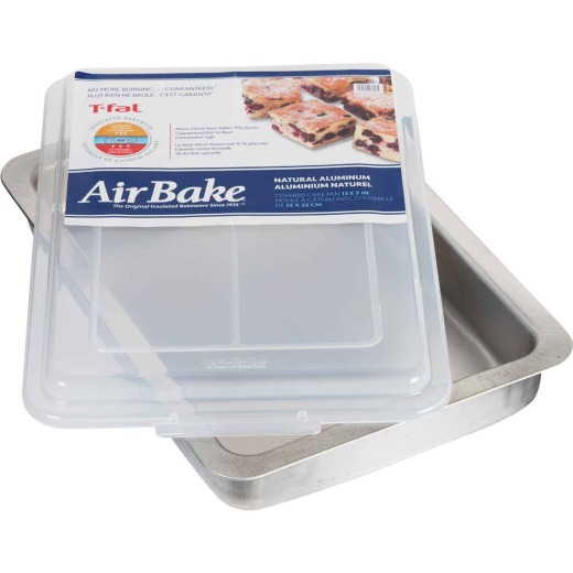 T-Fal AirBake 9 In. x 13 In. Oblong Baking Dish with Cover