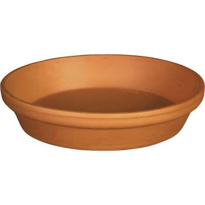Ceramo 10 In. Terracotta Clay Standard Flower Pot Saucer