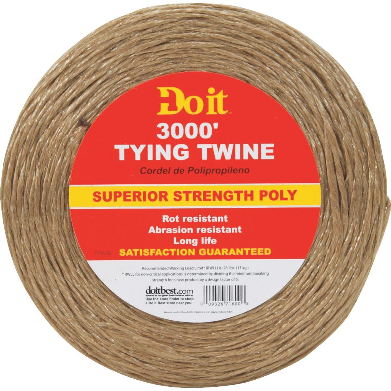 Do it 5/64 In. x 3000 Ft. Brown Polypropylene Tying Twine Image 1